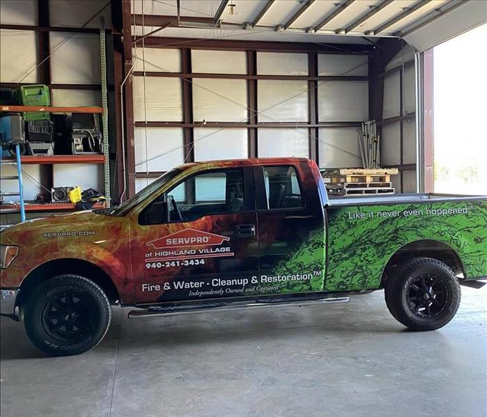 Our newest truck after being wrapped